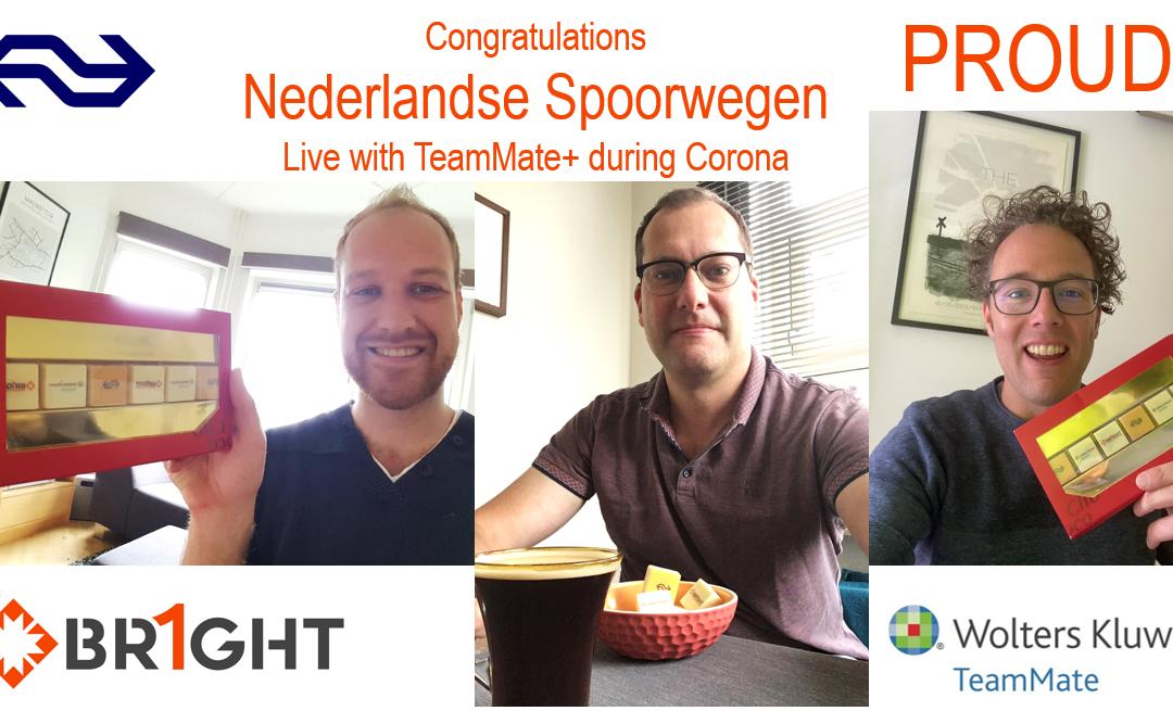 Nederlandse Spoorwegen 'live' with TeamMate